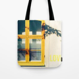 Love Window Tote Bag
