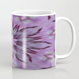 Floral Abstract Of Pink Hydrangea Flowers Coffee Mug