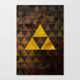 Ganondorf Geometry Canvas Print