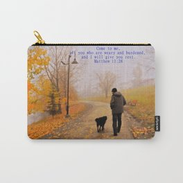 Walk in the Autumn Fog Carry-All Pouch
