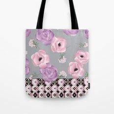 Purple & Pink Tote Bag