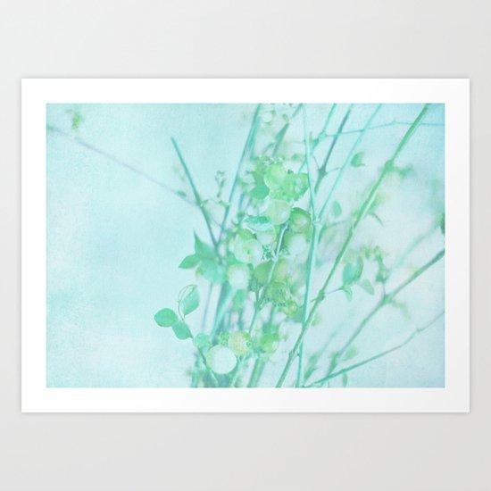 Mint Art Print