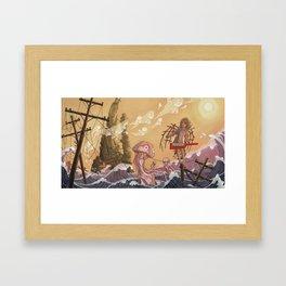 Reclaimed Lands Framed Art Print