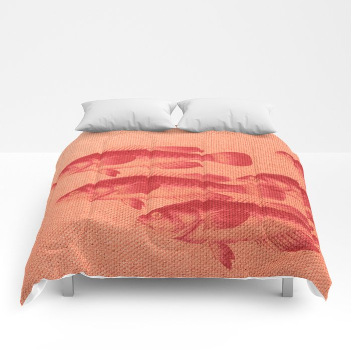 "Coletivo ""Peixes"" Comforters"