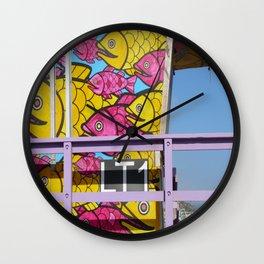 Beached Fish Wall Clock