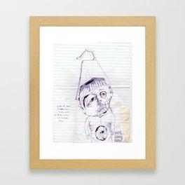 not long now Framed Art Print