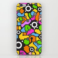 technology iPhone & iPod Skins featuring Technology background by Savgraf