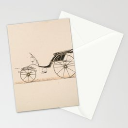 Design for Driving Phaeton,ca. 1870 Stationery Cards
