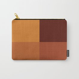 Autumn geometric pattern Carry-All Pouch