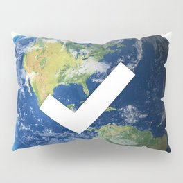 Verified Earth Pillow Sham