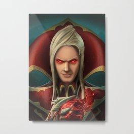 Vladimir portrait Metal Print