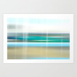 view to the breakers Art Print