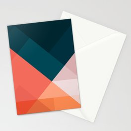 Geometric 1708 Stationery Cards
