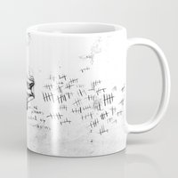 physics Mugs featuring Piano Death by Liam Brazier