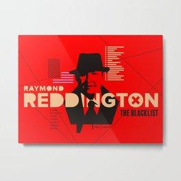 The Blacklist Raymond Reddington Metal Print