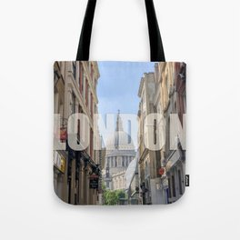 London - view of St Paul's Cathedral Tote Bag