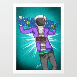 Astr0 Art Print