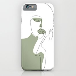 Looking Green iPhone Case
