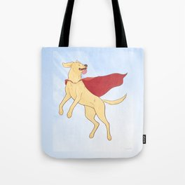Heroic Canine Tote Bag