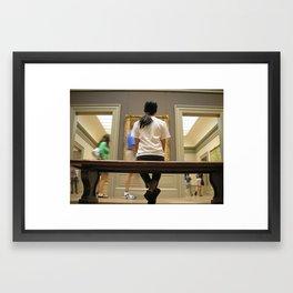 The Met, New York Framed Art Print