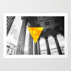 Maison Carrée, Nimes Art Print