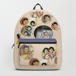 Beijing 6576 Asian vintage atmosphere with women Backpack