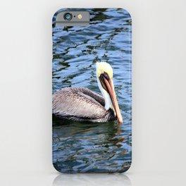 Floating Pelican iPhone Case