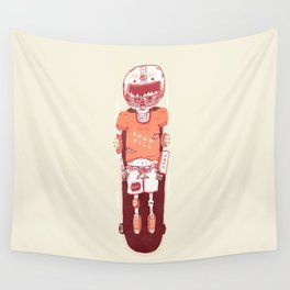 It's All Going Downhill From Here Wall Tapestry