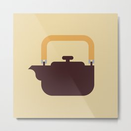 Japan Teapot Metal Print