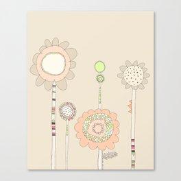 Little Daisies Canvas Print