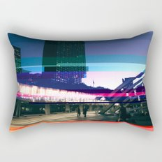 Project L0̷SS | Nathan Phillips Square, Toronto Rectangular Pillow