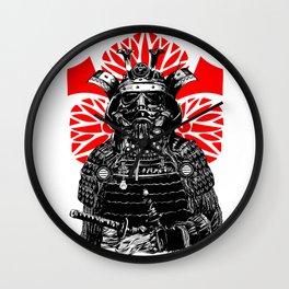 Bushi Trooper Wall Clock