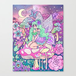 Iridescent Moonlight Canvas Print