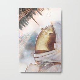 Bee Space by GEN Z Metal Print