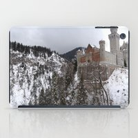 castle in the sky iPad Cases featuring Castle in the Sky by LonelyHeartsClub