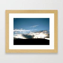 Lets Wander Framed Art Print