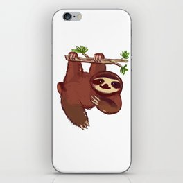 Adorable Sloth iPhone Skin
