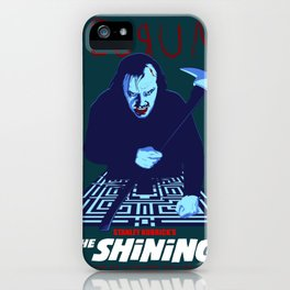 Redrum (with labyrinth) iPhone Case