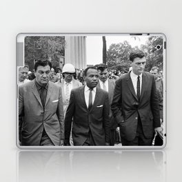 James Meredith walking to class, 1962 Laptop & iPad Skin