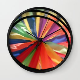 Wind Wheel Wall Clock