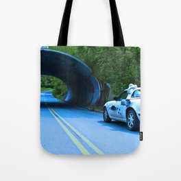 When this baby hits eighty-eight miles per hour... Tote Bag