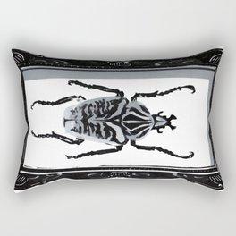 Goliath Beetle Rectangular Pillow