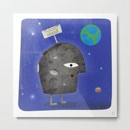 Charlie Sheen - Planet Sheen Metal Print