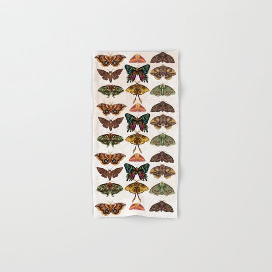 Moth Wings III Hand & Bath Towel
