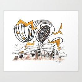 Bassic Coupe Art Print