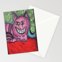the magnificent Mr. Cheshire cat  Stationery Cards