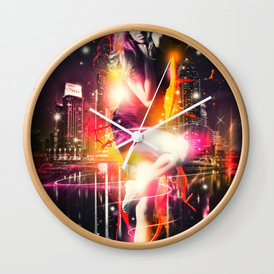 Citylights Wall Clock