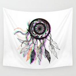 Modern Artistic Native American Dreamcatcher Wall Tapestry