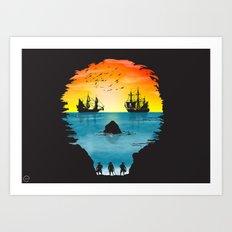 1 Eyed Willie Art Print