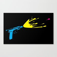 CMYKill Canvas Print